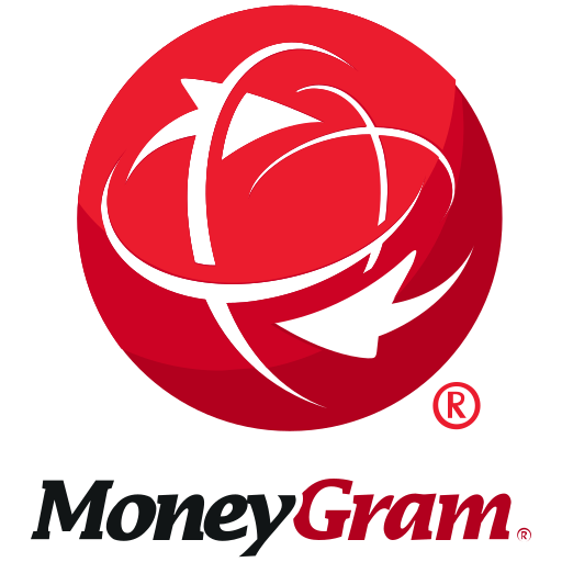 finance, logo, moneygram icon