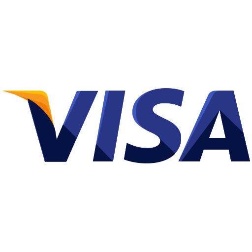 finance, logo, method, online, payment, visa icon
