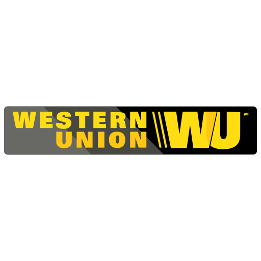 finance, payment, western union icon
