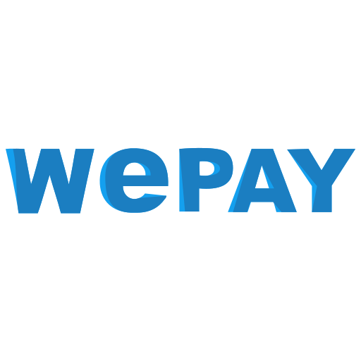 finance, logo, wepay icon