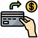 business, card, credit, finance, pay, payment, wallet icon