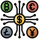 business, crypto, cryptocurrency, finance, internet, money, vault icon
