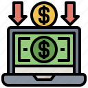 banking, business, commerce, finance, online, payment, ui icon