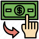 banking, business, commerce, finance, method, payment, shopping icon