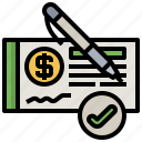 analysis, business, check, data, finance, payment, request icon