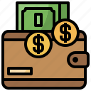 billfold, business, commerce, finance, holder, shopping, wallet icon