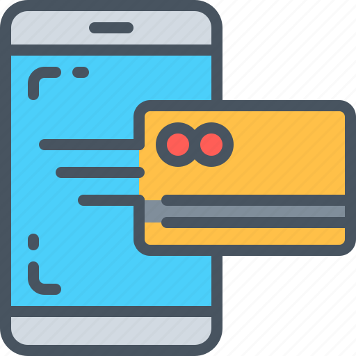 app, credit card, interaction, interface, online payment, ui, ux icon