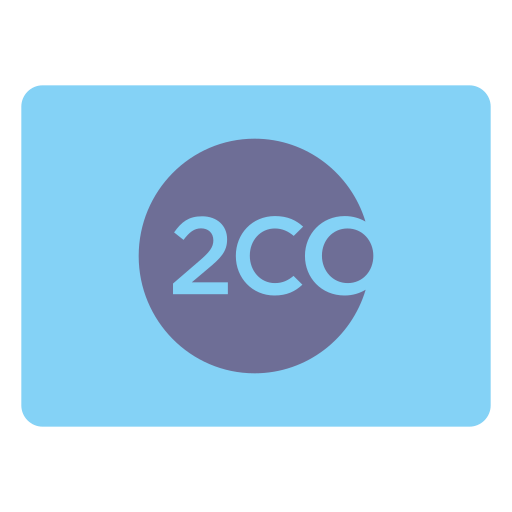 2co, checkout, payment icon