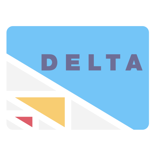 delta, pay, payment icon