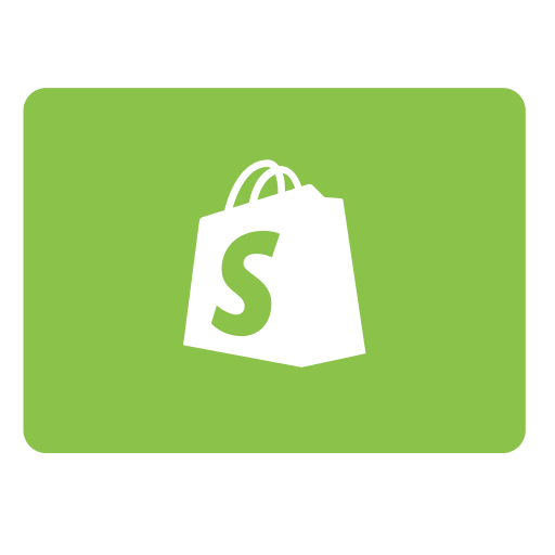 pay, payment, shopify icon
