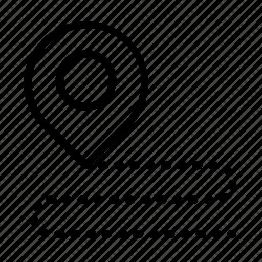 location, location marker, location pin, location pointer, pin icon