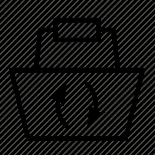 basket, goods, shopping, shopping basket, update icon