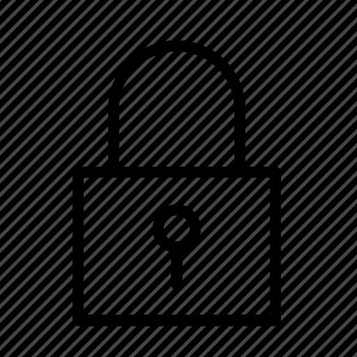 close, lock, locker, password, safety icon