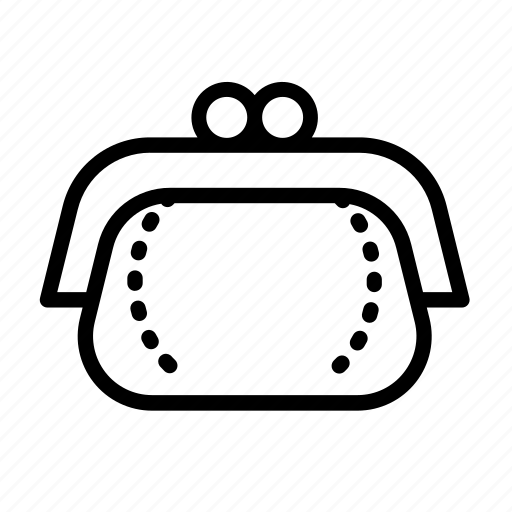 cash, money, pay, pouch, wallet icon
