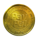 coin, gold, paypal icon