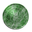 coin, malahit, paypal icon