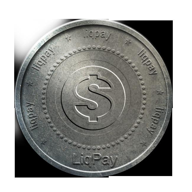 coin, liqpay, silver icon