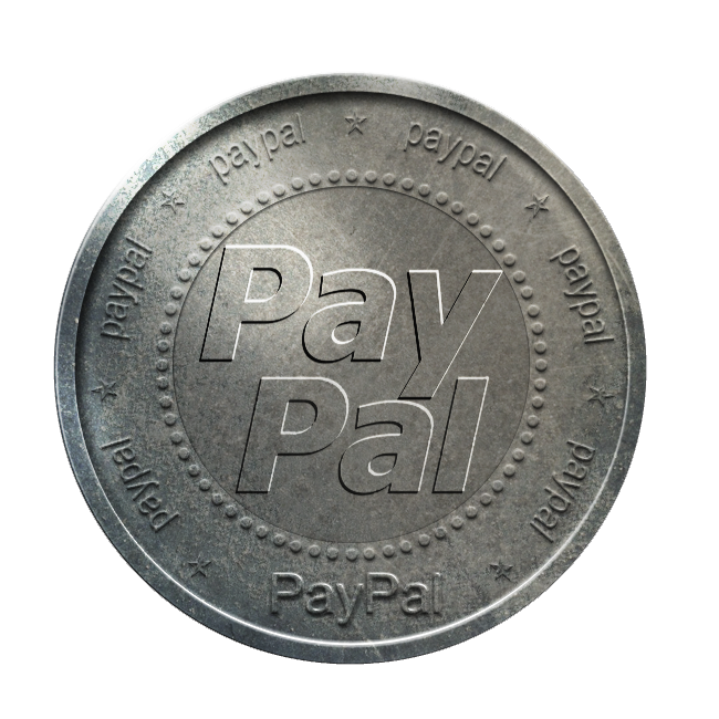 coin, paypal, silver icon