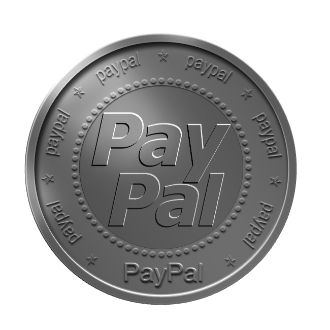 coin, paypal icon