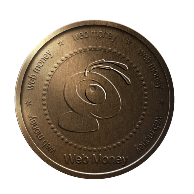 ant, bronze, coin, webmoney icon