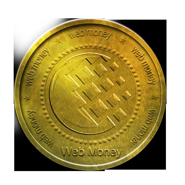 coin, gold, webmoney icon