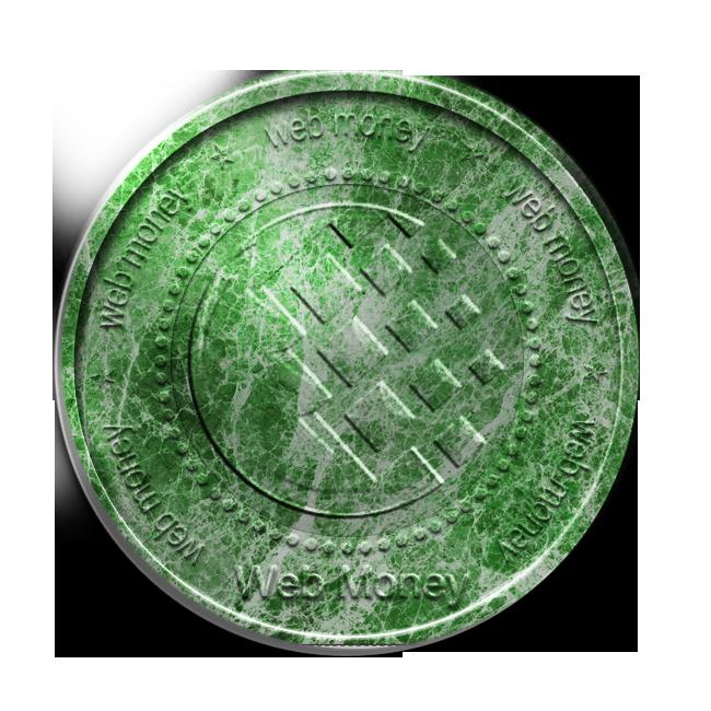 coin, malahit, webmoney icon