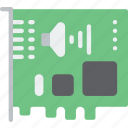 card, component, computer, hardware, pc, sound icon