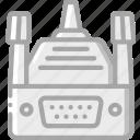 component, computer, hardware, pc, vga icon