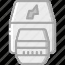 component, computer, hardware, pc, thunderbolt icon