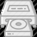 component, computer, disc, drive, hardware, pc icon