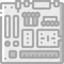 component, computer, hardware, motherboard, pc icon