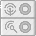 component, computer, hardware, pc, ports, sound icon
