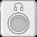 component, computer, hardware, headphone, pc, port icon