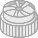 component, computer, hardware, heat, pc, sink icon