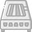 analogue, component, computer, hardware, modem, pc icon