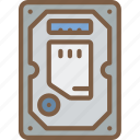component, computer, hardware, hdd, pc icon