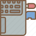 component, computer, hardware, laptop, pc, transfer icon