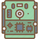 component, computer, drive, hard, hardware, pc icon