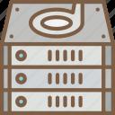 component, computer, drive, hardware, pc, raid icon