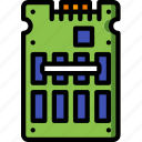 component, computer, hardware, pc, ssd icon
