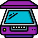 component, computer, hardware, pc, scanner icon