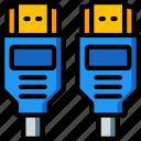cable, component, computer, hardware, hdmi, pc icon