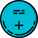 battery, cmos, component, computer, hardware, pc icon