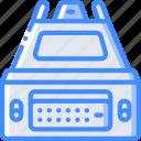 component, computer, dvi, hardware, pc icon