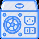 component, computer, hardware, pc, psu icon