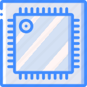 chip, component, computer, cpu, hardware, pc icon