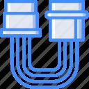cable, component, computer, pc, power, sata icon