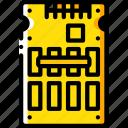 component, computer, hardware, pc, ssd icon