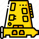 card, component, computer, hardware, network, pc icon