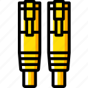 cable, component, computer, ethernet, hardware, pc icon